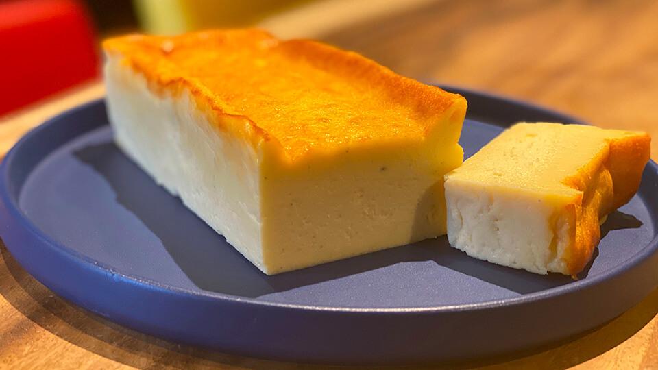 ワインに合う少し贅沢なチーズケーキ